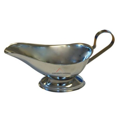 Picture of MINI STAINLESS STEEL METAL GRAVY BOAT