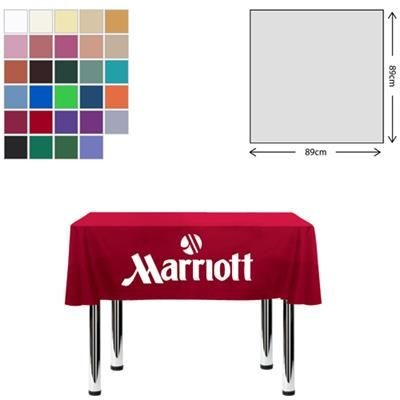 Picture of FABRIC SQUARE TABLE CLOTH 89 X 89CM