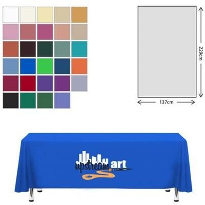 Picture of FABRIC RECTANGULAR TABLE CLOTH 138 X 229CM