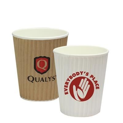Picture of RIPPLED SIMPLICITY PAPER CUP 8OZ-230ML