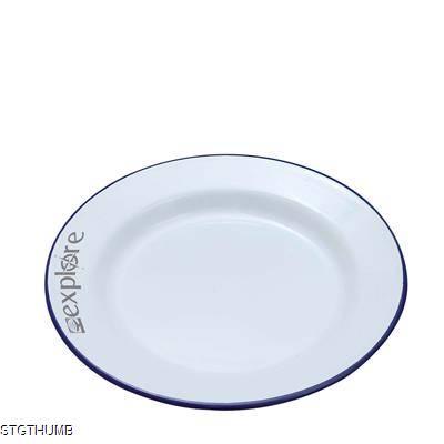 Picture of ENAMEL DINNER PLATE 24CM
