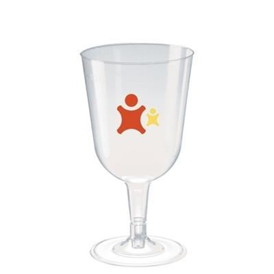 Picture of DISPOSABLE PLASTIC WINE GLASS 240ML-8
