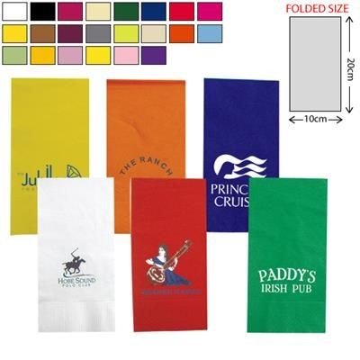 Picture of COLOUR FOLDED NAPKIN