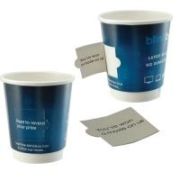 Picture of COUPON PAPER CUP DOUBLE WALLED - FULL COLOUR 8OZ-230ML