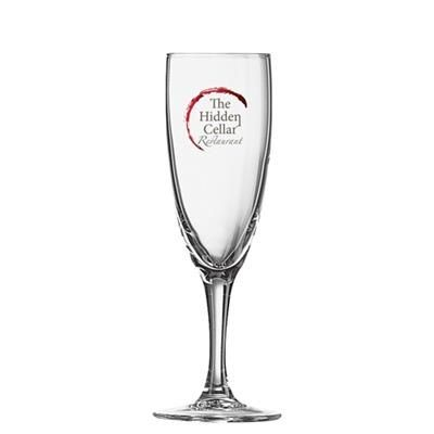 Picture of ELEGANCE FLUTE GLASS 170ML-5
