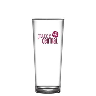 Picture of REUSABLE HIBALL GLASSES 284ML-10OZ-HALF PINT - POLYCARBONATE