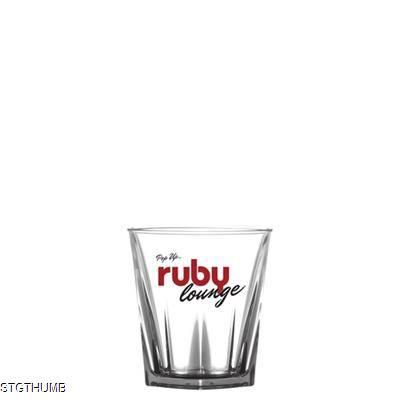 Picture of REUSABLE PRISM ROCKS GLASS 255ML-9OZ - POLYCARBONATE
