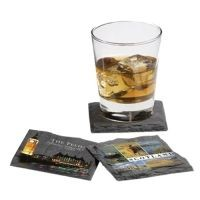 Picture of SQUARE SLATE COASTER 3