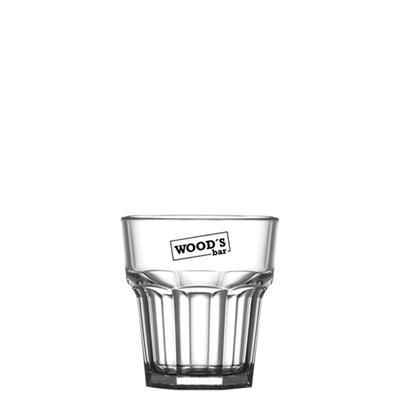 Picture of REUSABLE REMEDY ROCKS GLASS 256ML-9OZ - POLYCARBONATE
