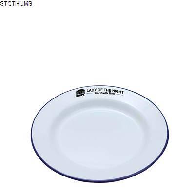 Picture of ENAMEL DINNER PLATE 20CM