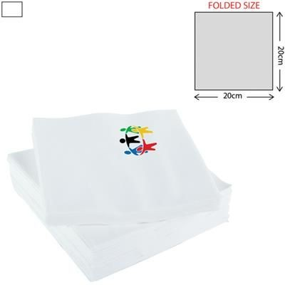 Picture of WHITE LUNCH NAPKIN 3PLY 33X33CM