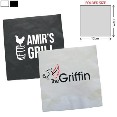 Picture of COCKTAIL AIRLAID NAPKIN 25X25CM