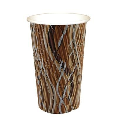 Picture of RIPPLED PAPER CUP - FULL COLOUR 20OZ-568ML