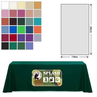 Picture of FABRIC RECTANGULAR TABLE CLOTH 178 X 366CM *