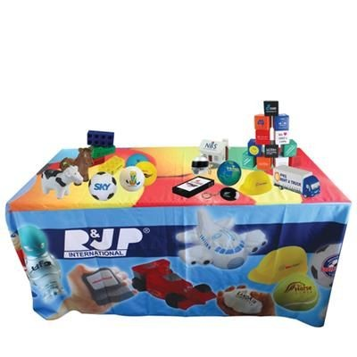 Picture of FULL COLOUR, FULL COVERAGE TABLE CLOTH - 178 X 366CM