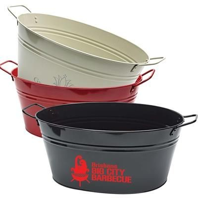 Picture of OVAL METAL BUCKET 15L