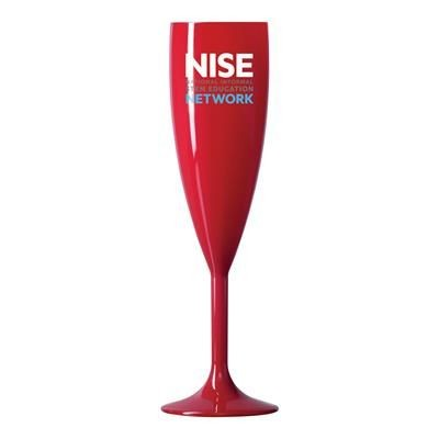 Picture of REUSABLE RED CHAMPAGNE FLUTE 187ML-6