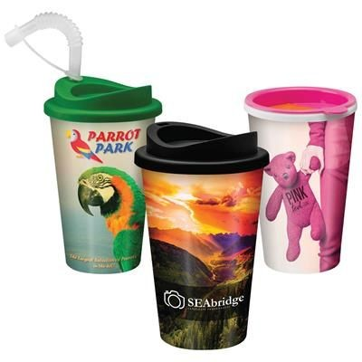 Picture of LARGE REUSE TAKEAWAY CUP - 350ML