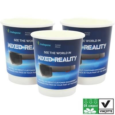 Picture of COMPOSTABLE DOUBLE WALL PAPER CUP