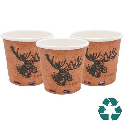 Picture of RECYCLABLE SINGLE WALL PAPER CUP - FULL COLOUR 4OZ-115ML