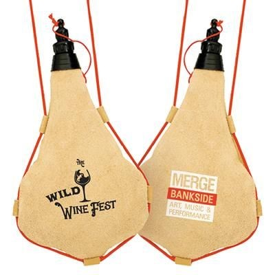 Picture of LEATHER WINESKIN 1 LITRE
