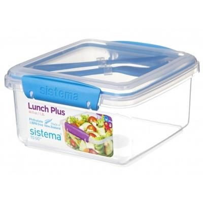 Picture of SISTEMA LUNCH BOX with Cutlery - 1