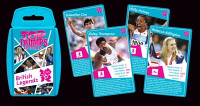 Picture of BRITISH LEGENDS TOP TRUMPS PLAYING CARDS