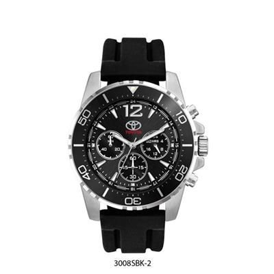 Picture of UNISEX BLACK SUNRAY DIAL WATCH