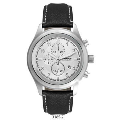 Picture of UNISEX CD EFFECT SILVER DIAL CHRONOGRAPH WATCH