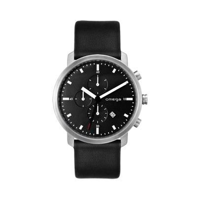 Picture of UNISEX MATT BLACK DIAL CHRONOGRAPH WATCH