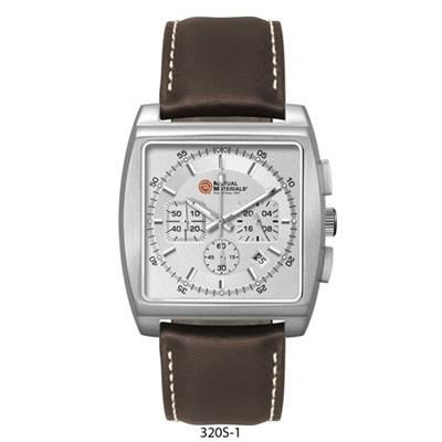 Picture of UNISEX CD EFFECT MATT SILVER DIAL CHRONOGRAPH WATCH