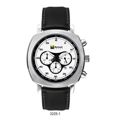 Picture of UNISEX MATT SILVER DIAL WATCH