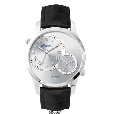 Picture of UNISEX SILVER SUNRAY DIAL WATCH