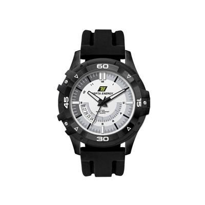 Picture of SPORTY BLACK PLATED WATCH