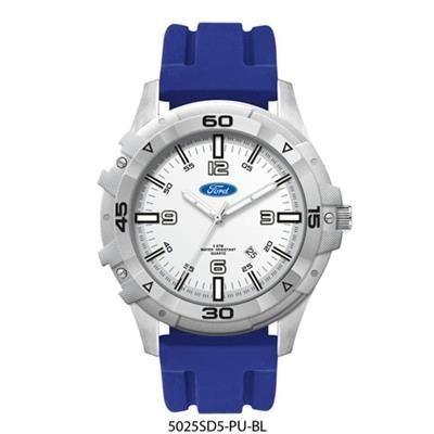 Picture of SPORTS WATCH with Silicon Strap in Blue