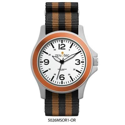 Picture of FASHION WATCH with Stripe Fabric Strap