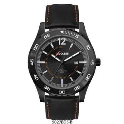 Picture of BLACK PLATED GENTS WATCH