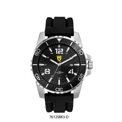 Picture of MENS DIVER STYLE WATCH with Silicon Strap