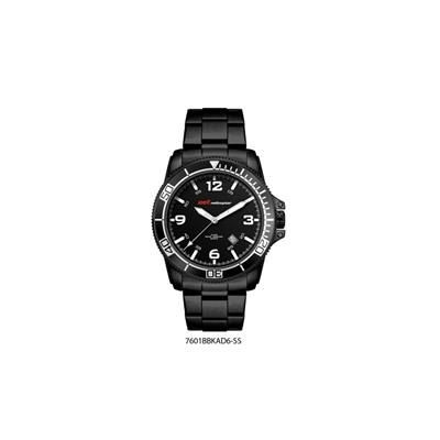 Picture of BLACK IONIC PLATED DIVERS STYLE WATCH