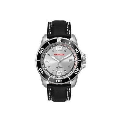 Picture of STAINLESS STEEL METAL DIVERS LEATHER WATCH
