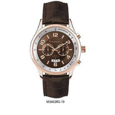 Picture of CHRONOGRAPH ROSE GOLD PLATED GENTS WATCH