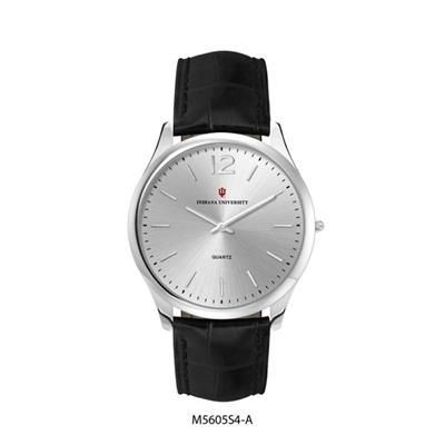 Picture of ULTRA SLIM MATCHING LADIES & GENTS STAINLESS STEEL METAL WATCH in Silver
