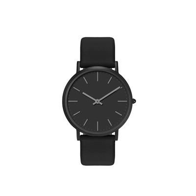 Picture of ULTRA SLIM BLACK IONIC PLATED GENTS WATCH
