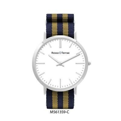 Picture of STAINLESS STEEL METAL GENTS WATCH with Fabric Strap