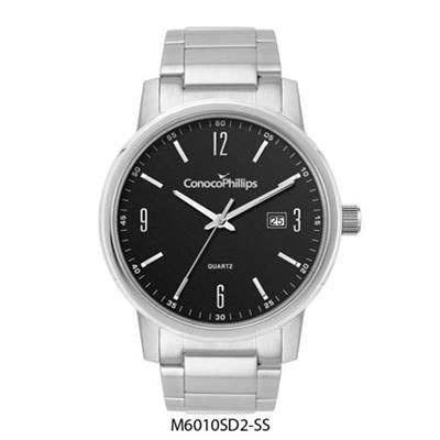 Picture of STAINLESS STEEL METAL FOLDED STRAP GENTS WATCH