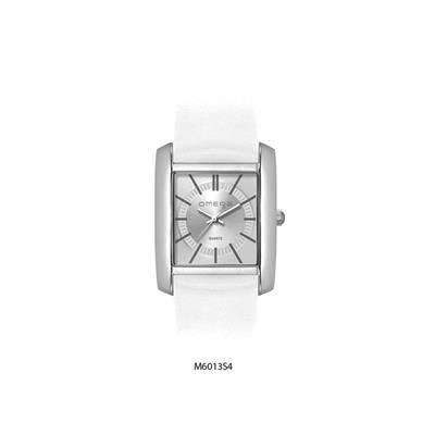 Picture of SQUARE WATCH with White Strap