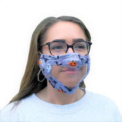 Picture of CLEAR TRANSPARENT WINDOW FACE MASK