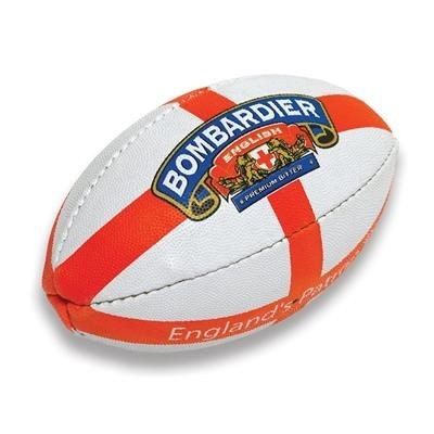 Picture of PIMPLED GRAIN MINI RUGBY BALL