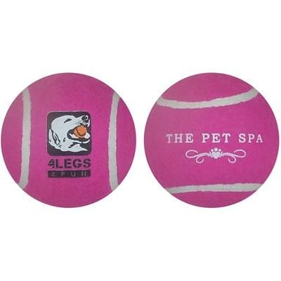 Picture of FELT COVERED RUBBER DOG BALL