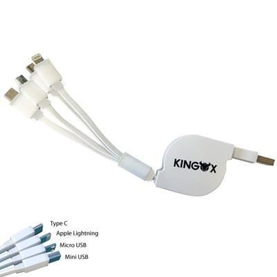 Picture of EXTENDABLE MULTI CHARGER in White Trim